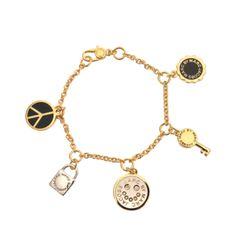 marc by marc jacobs lockin bracelet #bracelet #marcjacobs #designer #accessories #jewelry #covetme