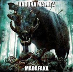Hakuna Matata Heavy Metal