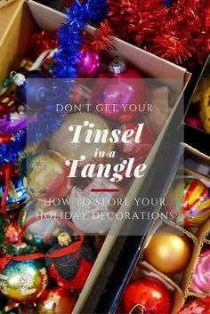 Don't get your tinsel in a tangle! Check out today's blog post to see what some of our favorite holiday storage items are.