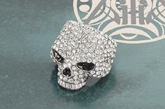 Another sweet skull ring