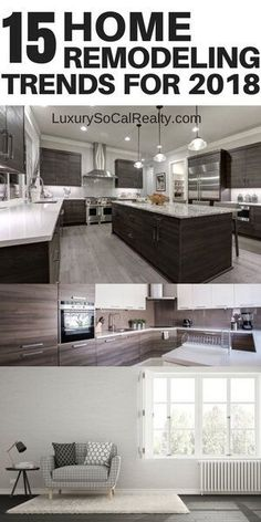 Discover 15 Home Trends That Will Make You Want To Remodel in 2018 - see what's popular and trending by Joy Bender | Luxury Real Estate San Diego | La Jolla Realtor®️️ #homedecor #homeimprovement #remodeling #homestyling #homeimprovement #homeremodel #kitchendesign #kitchens #bathroomdesign #bathroomideas #bathroomdecor #remodel