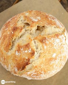 Baking can be tricky, but making a delicious loaf of homemade bread is actually easier than you'd think! Easy Bread Recipes, Cooking Recipes, Chicken Recipes, No Knead Bread, Tasty, Yummy Food, Artisan Bread, Mellow Yellow, Bread Baking