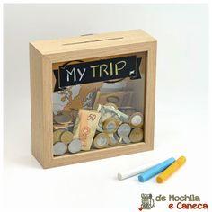 Viajantes e seus cofrinhos com economias pra viajar! Porque estabelecer uma prioridade, focar e ser persistente tem suas recompensas: mais viagens!