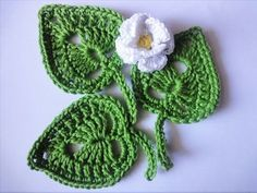 Get the more patterns at http://sheruknitting.com/ This tutorial is about how to crochet a beautiful round leaf. It looks very nice in one color and made of ...