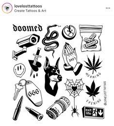 301459768808180235 hippie tattoo - No Photo statement. Flash Art Tattoos, Tattoo Flash Sheet, Kritzelei Tattoo, Doodle Tattoo, Mini Tattoos, Black Tattoos, Small Tattoos, Ankle Tattoos, Tattoo Sketches