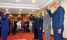 Senado de la Republica juramenta nuevos integrantes Camara de Cuentas; renuncia ex vicepresidente