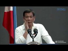 President Duterte talks to the Business people at Philippine Business Co...