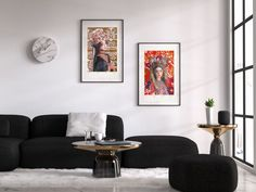 Home Interior Salas Modern colorful abstract watercolors and art by AdriLunaStudio.Home Interior Salas Modern colorful abstract watercolors and art by AdriLunaStudio