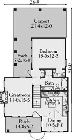 26 X 40 Cape House Plans Second Units Rental Guest