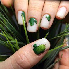 581 отметок «Нравится», 6 комментариев — • nails • depilation • brows • (@kiskis.nails) в Instagram: «Свежий и сочный маникюрчик от @kiskis.nails И совсем не колючий…»