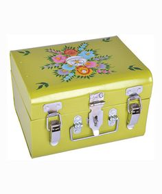 Loving this Lime Hand-Painted Lunchbox on #zulily! #zulilyfinds
