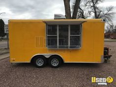 New Listing: https://www.usedvending.com/i/2015-8.5-x-16-Food-Concession-Trailer-for-Sale-in-Iowa-/IA-P-027Y 2015 - 8.5' x 16' Food Concession Trailer for Sale in Iowa!!!