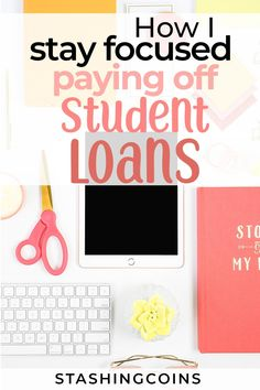 Paying off student debt is an overwhelming experience, sometime you may want to give up. You are not the only one, here are a few things other people do to stay focused. #getridofdebt #debtfree Graduate Student Loans, Best Student Loans, Federal Student Loans, Paying Off Student Loans, Student Loan Debt, Student Loan Repayment, Debt Repayment, Debt Payoff, Stay Focused