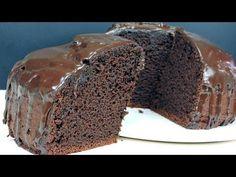 BIZCOCHO de CHOCOLATE (húmedo y esponjoso) - YouTube Chocolate Sponge Cake, Easy Chocolate Chip Cookies, Cake Photography, Cake Cookies, Caramel Apples, Sweet Recipes, Tapas, Vanilla Cake, Dessert Recipes