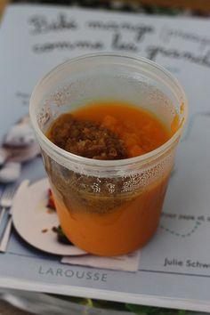 Le pot au feu des bébés (à partir de 6 mois) : Verser tous les légumes dans une petite cocotte, ajouter le thym et la viande. Couvrir d'eau et laisser cuire pendant 1 bonne heure à couvert.