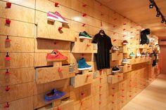 8039a83c3 Store Nike, Shelving Design, Drawer Design, High Street Stores, Concept  Shop,