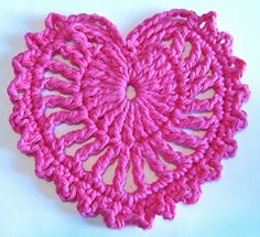 Fancy Lace Heart ~ free , thanks so for share xox Ravelry