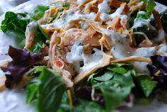 Bajio chicken chile salad--crockpot recipe. yuuuuum.