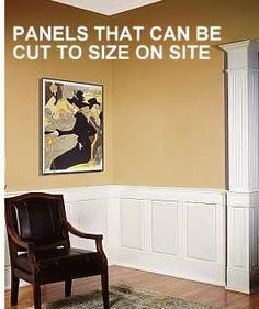 Wainscoting - Wood Wall Panels - Customizable Wainscoting Systems