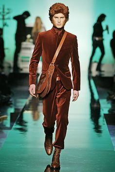 Jean Paul Gaultier Fall 2007 Menswear Collection Slideshow on Style.com