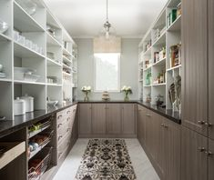Impressive kitchen pantry cabinet around refrigerator on Noonprop8.com #Kitchen #Pantry #Cabinets #Home #KitchenIsland #Decor