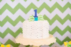 bowtie ruffle cake for first birthday party Boys 1st Birthday Party Ideas, First Birthday Parties, Ruffle Cake, 1st Birthdays, Desserts, Baby, Tailgate Desserts, Ruffled Cake, 1st Year Birthday