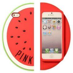 Fundas 3d Iphone 5 5s Victoria´s Secret Pink Sandia Anana - $ 209,99 en MercadoLibre