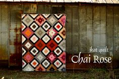 Ikat quilt for Color Intensive | Flickr - Photo Sharing!