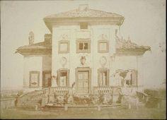 Villa Spada, facciata principale [The Defence of Rome - la difesa di Roma, 11] 1849, Summer