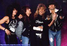 Drummers!  Fred Coury, Lars Ulrich, Steven Adler, Tommy Lee
