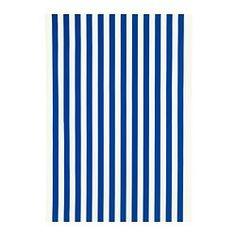 "SOFIA fabric, bright blue, wide stripe Width: 59 "" Pattern repeat: 25 1/4 "" Width: 150 cm Pattern repeat: 64 cm"