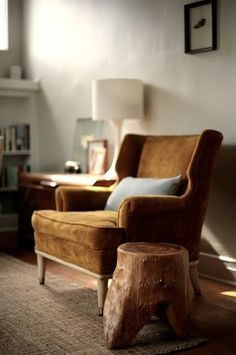 It's not just any comfy armchair....it's dad's comfy armchair. Keep off! ;) #dad #joules