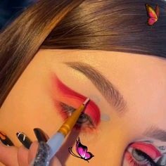 Amazing Eye Shadow Makeup Tutorial Idea ( Stylio Cosmetics is a cosmetics brand. Worldwide Free Delivery ) By: @chloeandcosmetics<br> Eye Makeup Steps, Simple Eye Makeup, Natural Eye Makeup, Makeup Tutorial For Beginners, Makeup Tutorials, Tinted Moisturizer, Eyeshadow Makeup, Hair Makeup, Fantasy Makeup
