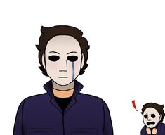 Michael with a 🅱️ Horror Movie Characters, Horror Films, Michael Myers Drawing, Jake Park, Art Reference Poses, Dark Hair, Scary, Aesthetics, Kawaii