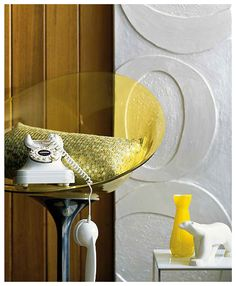 = Styled by Deb McLean Yellow Interior, Vignettes, Homes, Home Decor, Style, Yellow, Swag, Houses, Decoration Home