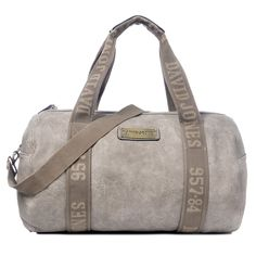 DAVIDJONES Synthetic Weekender Travel Tote Bag Large Duffle Bag Gym Bag -- You can get more details by clicking on the image.