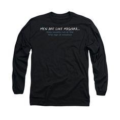 Men Like Mascara Adult Long Sleeve T-Shirt