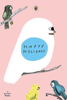 HAPPY HOLIDAYS 2012 xo OHARA HALE