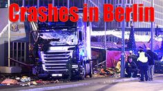 Truck crashes into crowd at Berlin / Грузовик врезался в толпу в Берлине