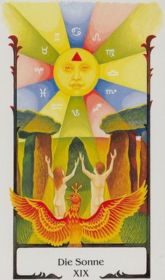 The Sun - Tarot of the Old Path