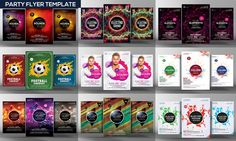 300+ Print Templates Bundle by Business Templates on Creative Market