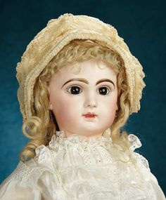 French Bisque Bebe by Emile Jumeau with Original Wig and Signed Jumeau Shoes 3000/4000 | Art, Antiques & Collectibles Toys & Hobbies Dolls | Auctions Online | Proxibid