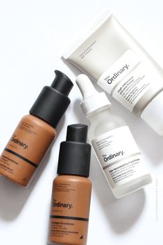Foundations for dark skin tones The Ordinary Before And After, Best Face Products, Beauty Products, Dark Skin Tone, Face Oil, Nars, Makeup Brushes, Foundation, Moisturizer