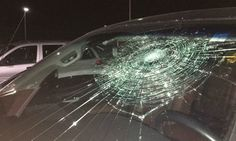 Baseball Player's Grand Slam Smashes His Own Truck Windshield