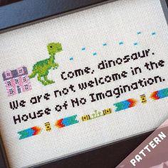 Friends TV Show Cross Stitch Pattern · No Imagination House - www.petipoaneedlecraft.com