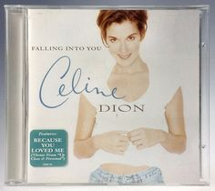 Celine Dion Falling Into You CD 1996 Sony Music #1990sPopVocal