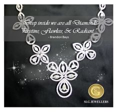 #‎QuoteOfTheWeek‬ ‪#‎Jewellery‬ ‪#‎SLGJewellers‬