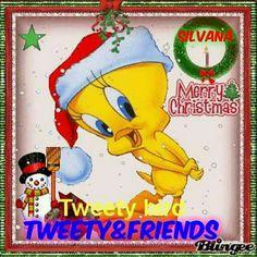 Merry Christmas Tweety ♡ ♥ ♡ ♥