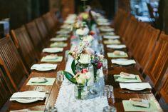 Leea Rob 266 550x366 Leea and Roberts Vintage Style Barn Wedding