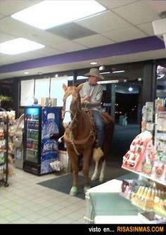 En una gasolinera cualquiera de Texas.